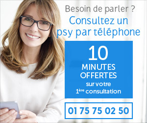 Psy par téléphone - 10 premières minutes offertes puis 2,50€/mn - de 8H à 3H du matin - 01 75 75 02 50