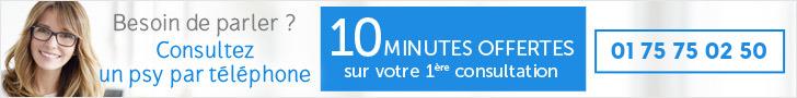 Psy par téléphone - 10 premières minutes gratuites puis 2,50€/mn - de 8H à 3H du matin - 01 75 75 02 50
